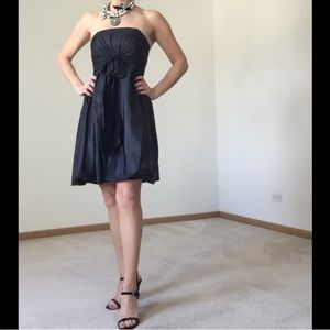 🌟 3 for $15 🌟 WHBM Strapless Black Dress, EUC
